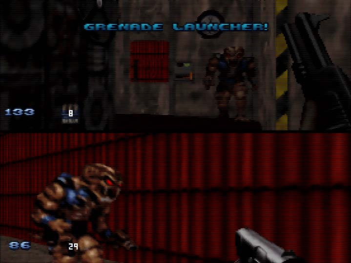 Duke Nukem 64 two-player coop mode