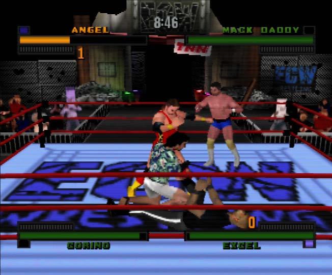 ECW Hardcore Revolution two-player coop career mode on Nintendo 64