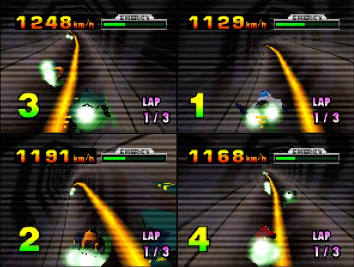 F-Zero X multiplayer