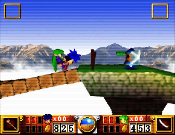 Goemon's Great Adventure, one of the best N64 coop games.