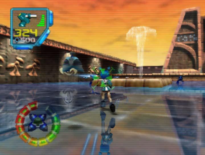 Two-player coop using Floyd in Jet Force Gemini on N64