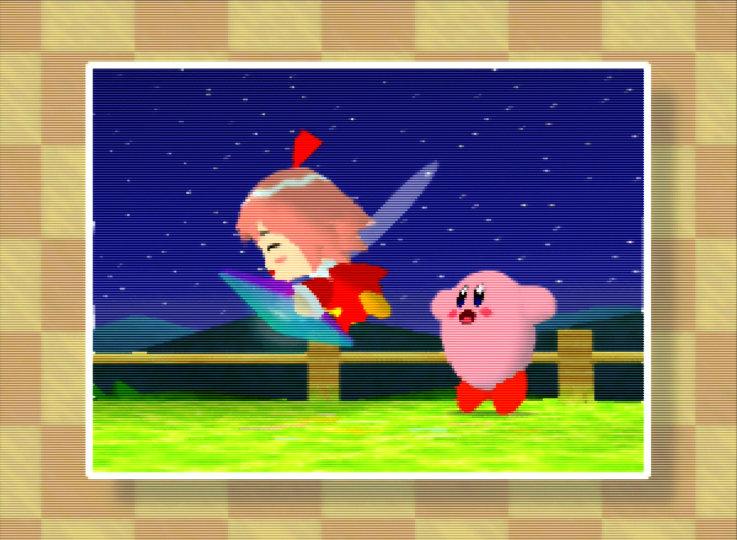 Kirby 64: The Crystal Shards on an UltraHDMI N64