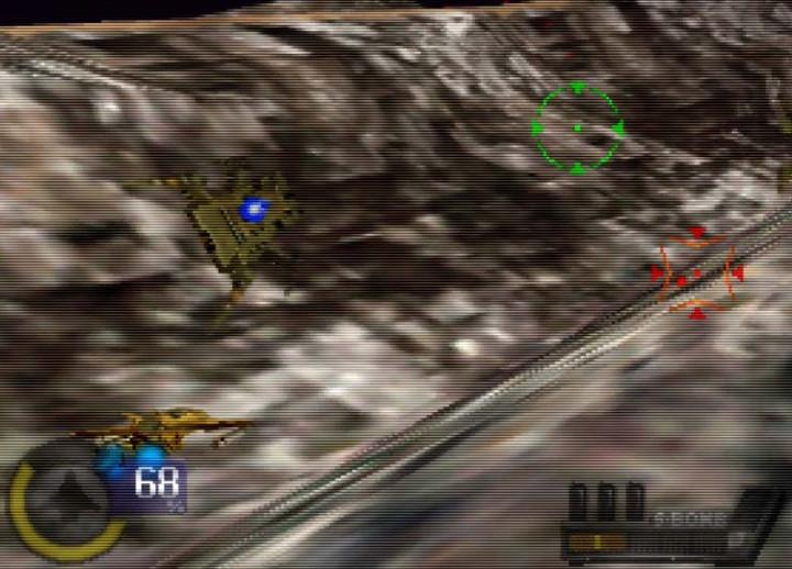 Knife Edge: Nose Gunner two-player story mode