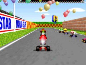 Mario Kart 64 on an UltraHDMI N64 with VI de-blur filter turned off