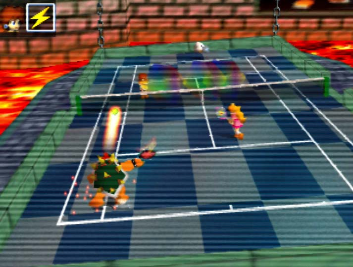 Mario Tennis (N64) - one of the best N64 multiplayer games