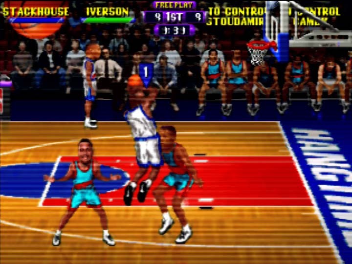 NBA Hangtime multiplayer on the N64