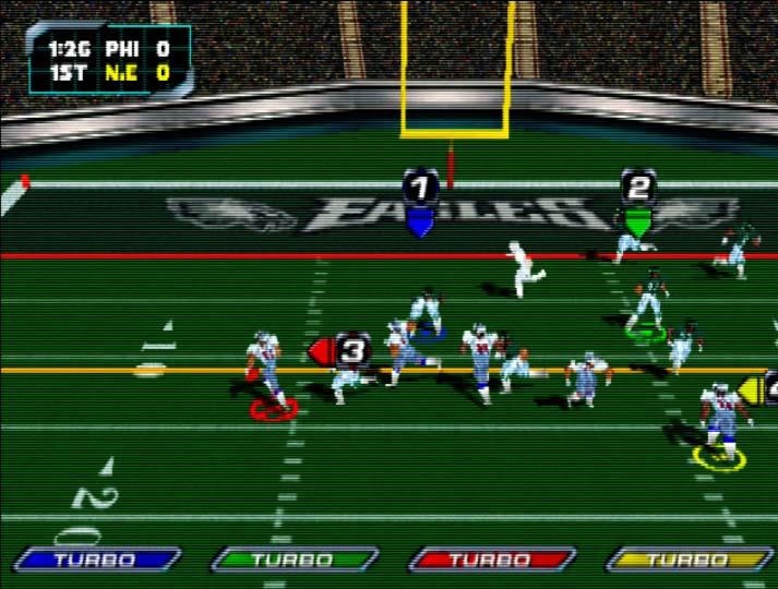 NFL Blitz 2000 multiplayer