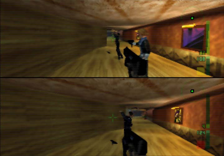 Perfect Dark co-operative mode - arguably the best of all N64 coop games on the system