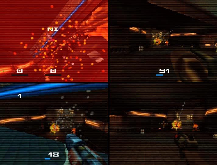 Quake II N64 deathmatch multiplayer