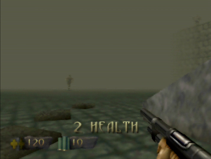 Fog in Turok: Dinosaur Hunter for N64
