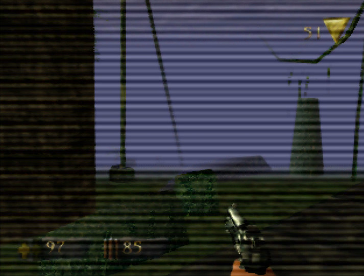 Jungle Ruins in Turok: Dinosaur Hunter