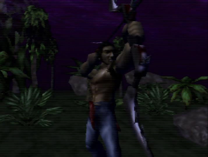 Tal'Set, protagonist of Turok: Dinosaur Hunter for N64