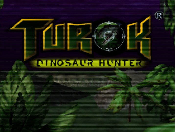 Turok: Dinosaur Hunter title screen
