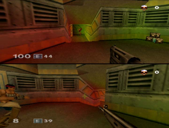 Turok Rage Wars, one of many first-person shooter N64 coop games.