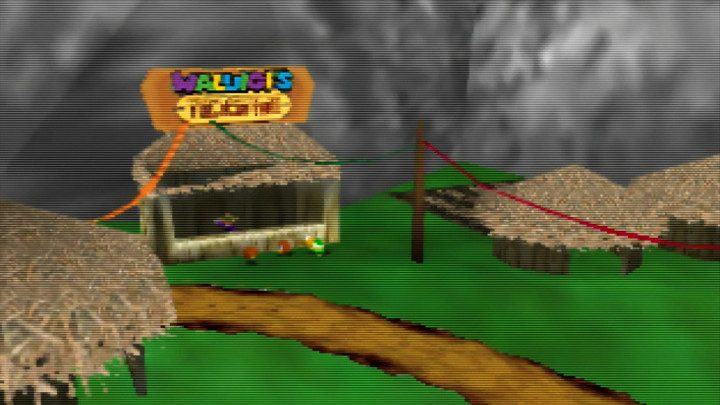 Waluigi's Taco Stand N64 hack puts the purple wonder in the