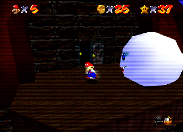 Big Boo in Super Mario 64