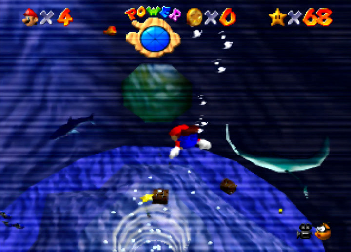 Diving into Dire, Dire Docks in Super Mario 64