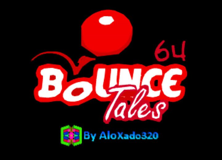 Bounce Tales 64 title screen