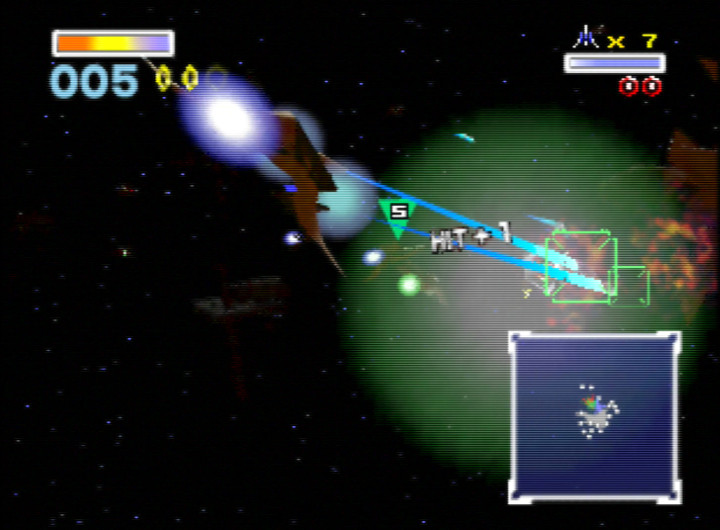 Sector Z stage from Star Fox 64 / Lylat Wars for Nintendo 64
