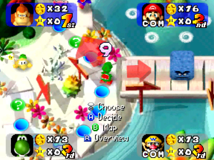 mario-party-n64-yoshis-tropical-island - N64 Today