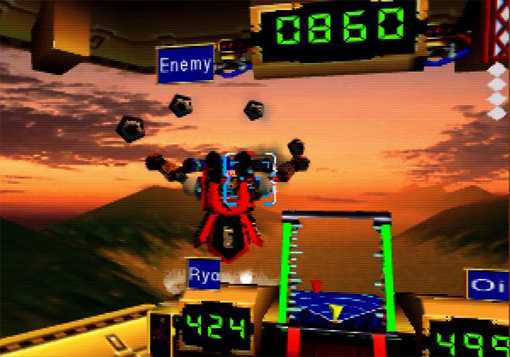 Impact robot battle in Mystical Ninja Starring Goemon