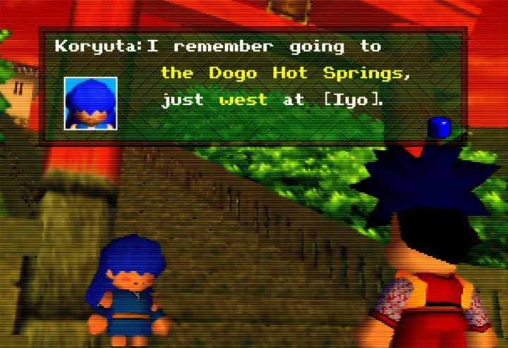 Koryuta from Mystical Ninja Starring Goemon for N64
