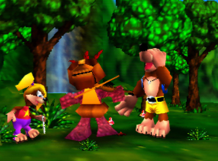 Banjo-Kazooie (N64), a game that surprisingly missed the list of best-selling N64 games in the United States