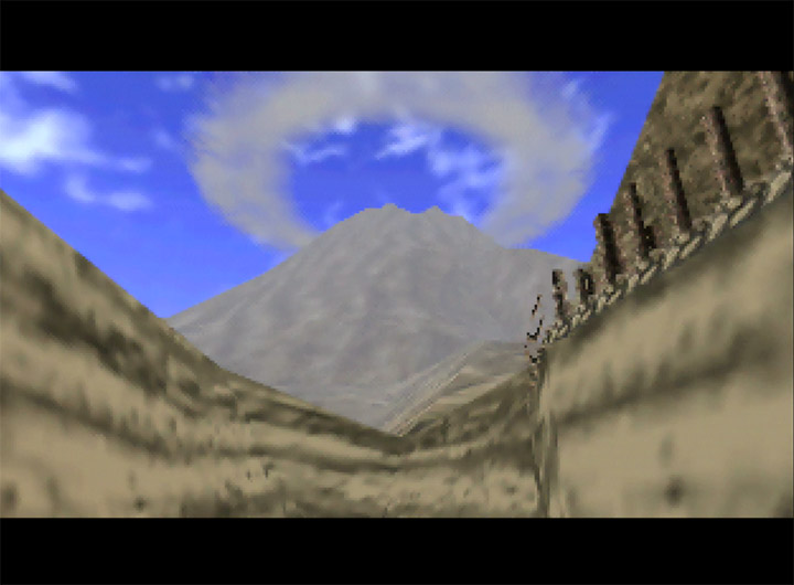 Death Mountain, as depicted in the 1998 N64 game The Legend of Zelda: Ocarina of Time