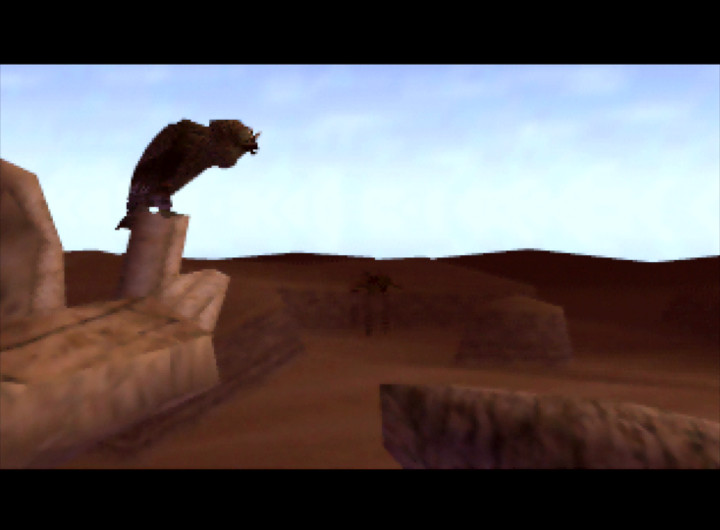 The Desert Colossus from The Legend of Zelda: Ocarina of Time for N64.