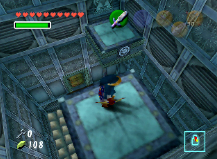 The Water Temple from The Legend of Zelda: Ocarina of Time