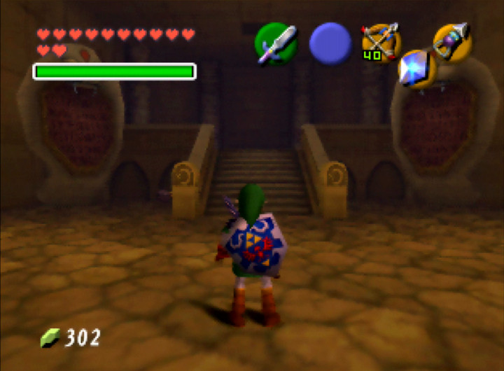 The Legend of Zelda: Ocarina of Time's Spirit Temple (N64)