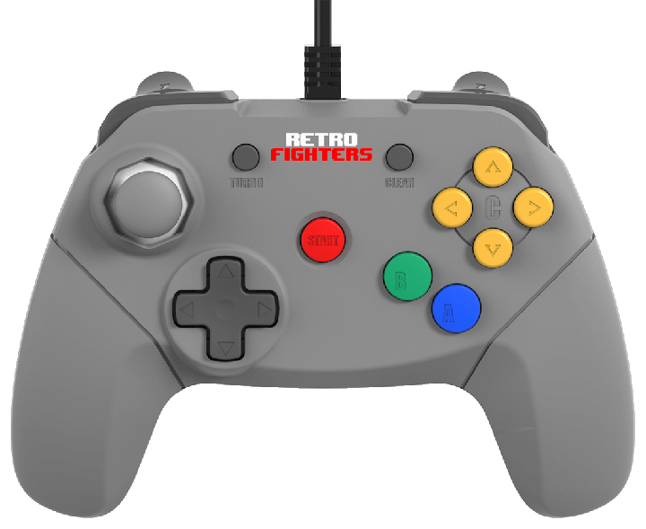 The N64 Brawler 64 Pad by Retro Fighters