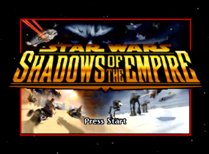 Star Wars: Shadows of the Empire (N64) title screen