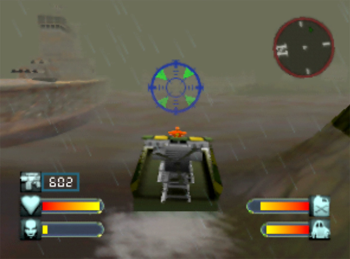 The Pequod in Body Harvest N64 - a pop culture reference to Herman Melville's Moby Dick.
