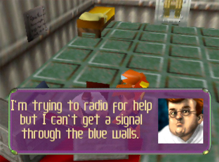 A Peter Griffin lookalike in N64 game Body Harvest