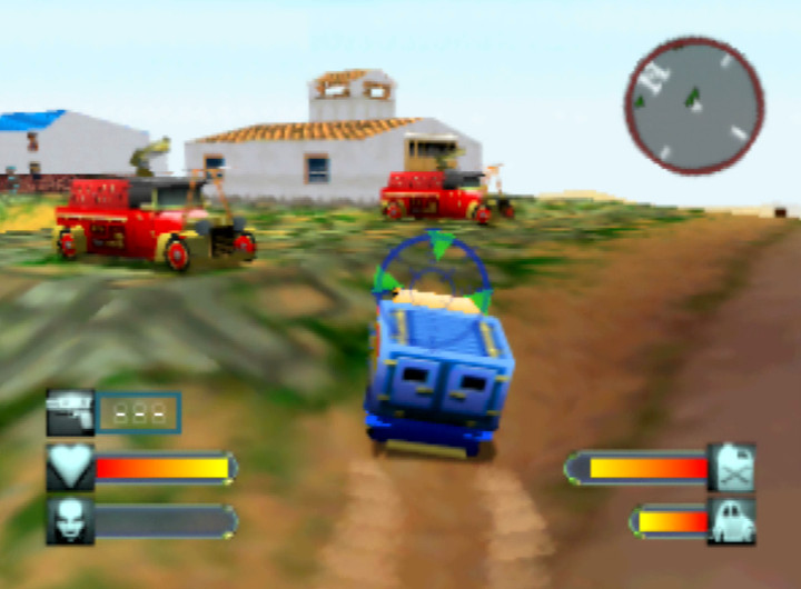 Trumptonas Town from Body Harvest for N64.