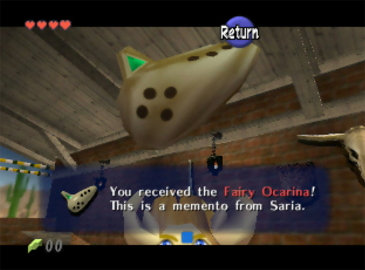 The Fairy Ocarina as a prize for beating the shooting gallery!? Only in Ocarina of Time Randomizer.