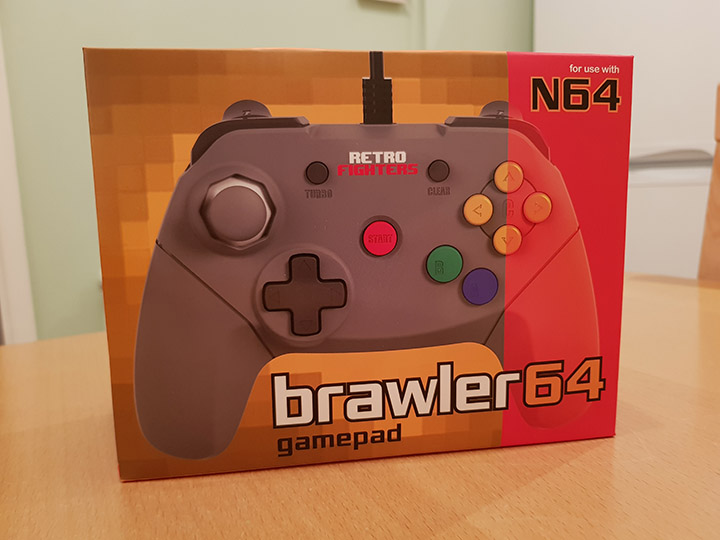 The Brawler 64 controller box - by Retro Fighters