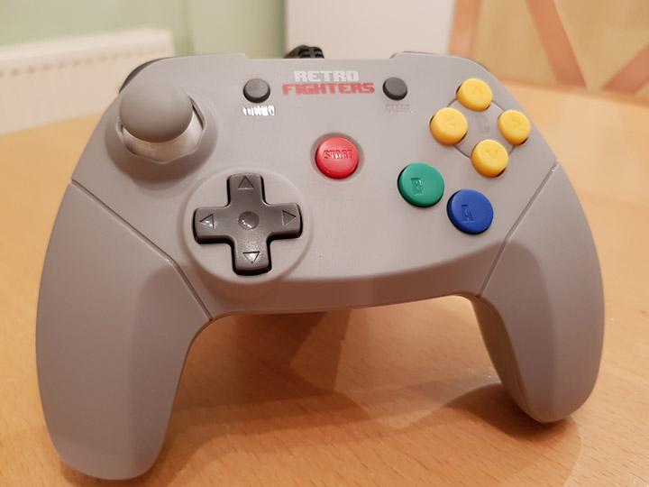 Brawler 64 Retro Fighters controller