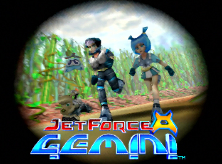Jet Force Gemini title screen (N64 version)
