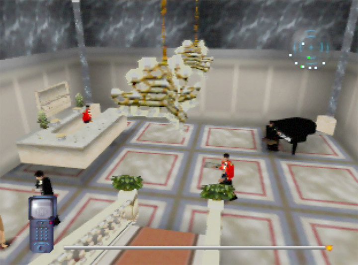 The embassy function level from Mission Impossible for the N64.