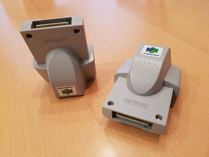 Two N64 Rumble Paks
