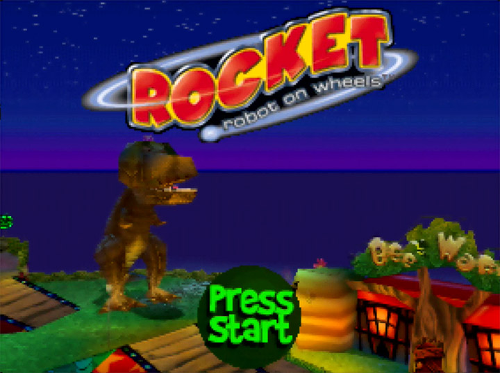 Underrated N64 game Rocket: Robot on Wheels.
