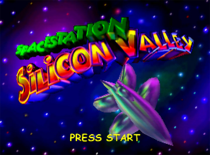 Space Station Silicon Valley title screen - a seriously underappreciated N64 game.