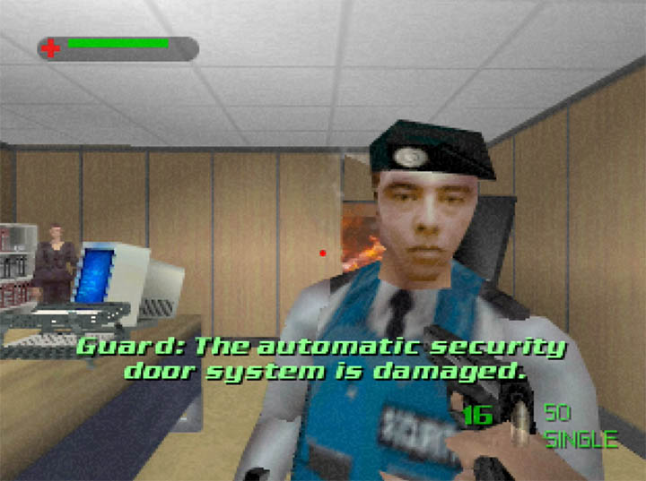 King's Ransom mission in The World Is Not Enough for Nintendo 64.