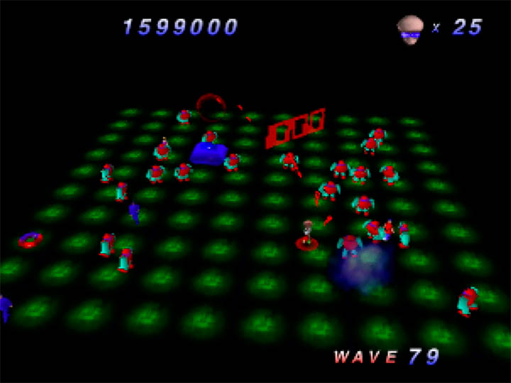 Robotron 64 for N64 (wave 79)