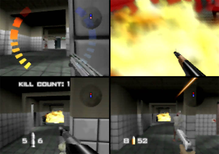 GoldenEye 007 Tournament Edition - a multiplayer deathmatch on Facility.