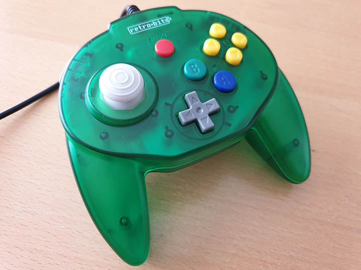 Retro-bit Tribute 64 controller - forest green - (For Nintendo 64 version)