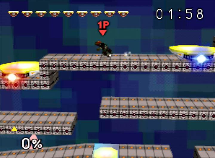 Ganondorf Super Smash Bros 64 mod - board the platforms