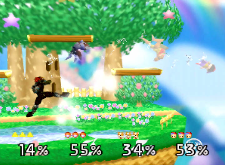 Playing as Ganondorf in Super Smash Bros. 64 - a mod that even works on original n64 hardware.